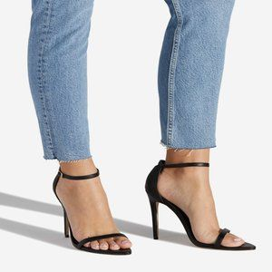 Teina Two Strap Heeled Sandal
